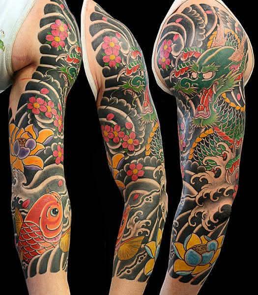 tatuagem_japonesa_no_braco_bc687c84346014b7aa4a0fbe3ceec2e0_tatuagem japonesa
