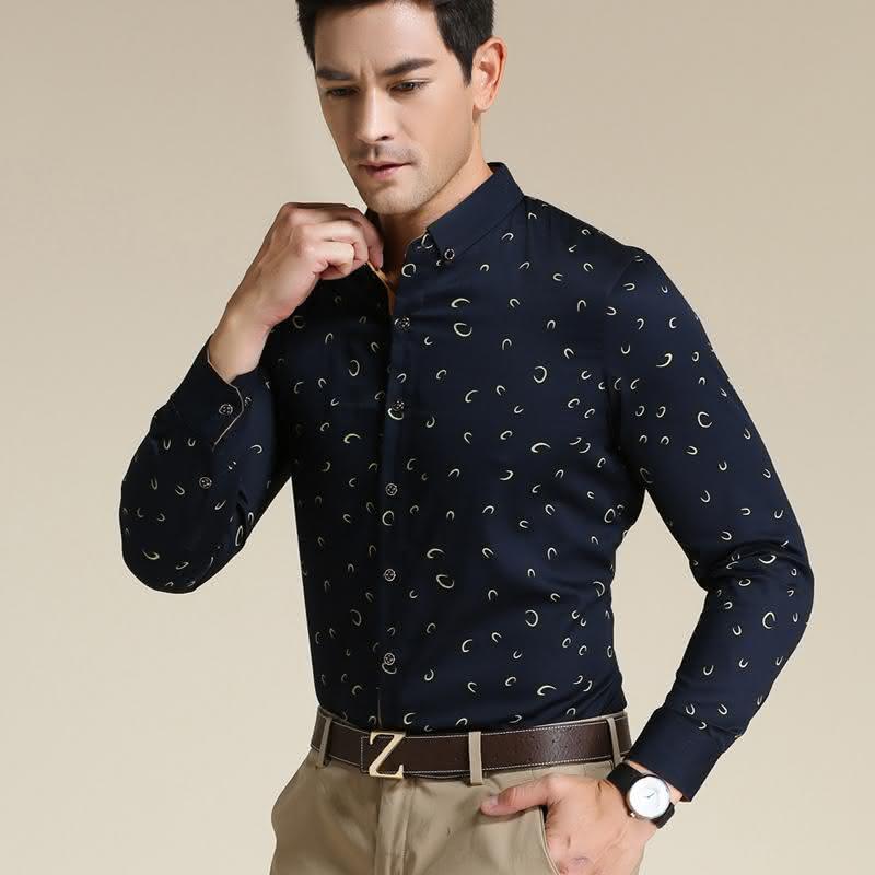 camisa-social-estampada