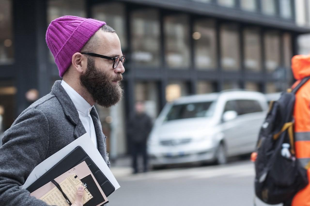 Angelo-Flaccavento-purple-beani-beard-men
