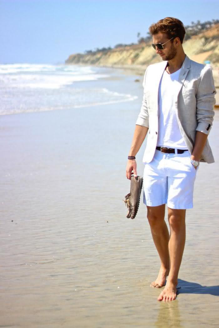 short-masculino-blazer