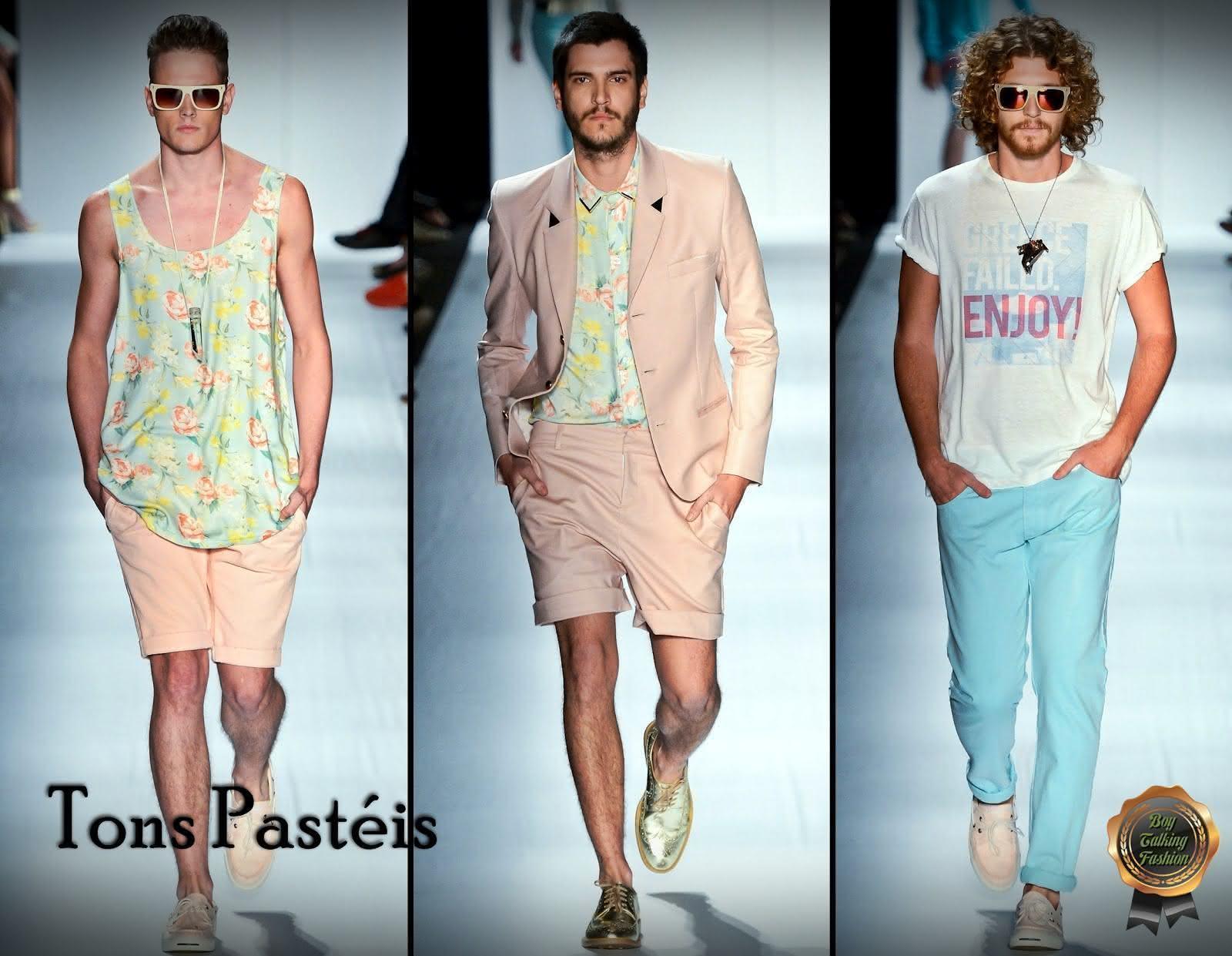 Tendências Primavera Verão 2012-2013 - Tons Pastéis - Boy Talking Fashion - Lucas Dias 2