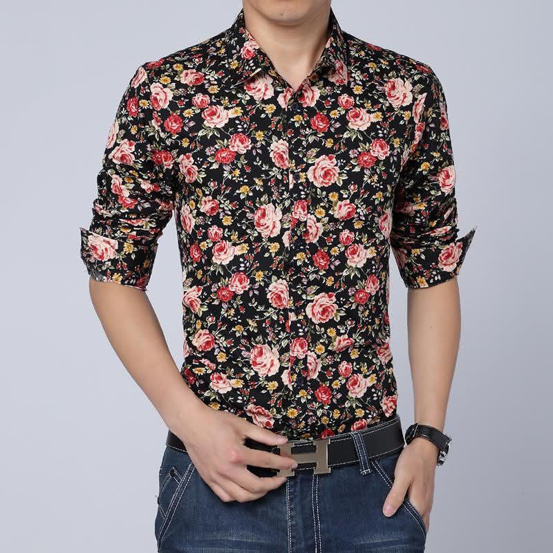 mens-shirts-fashion-2015-spring-mens-floral-dress-shirts-camisa-social-mens-font-b-hawaiian-b