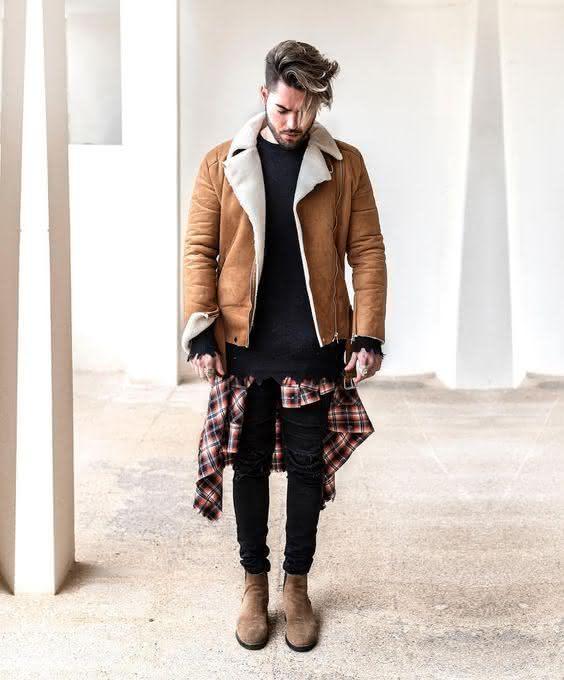 Moda Masculina Inverno 2018