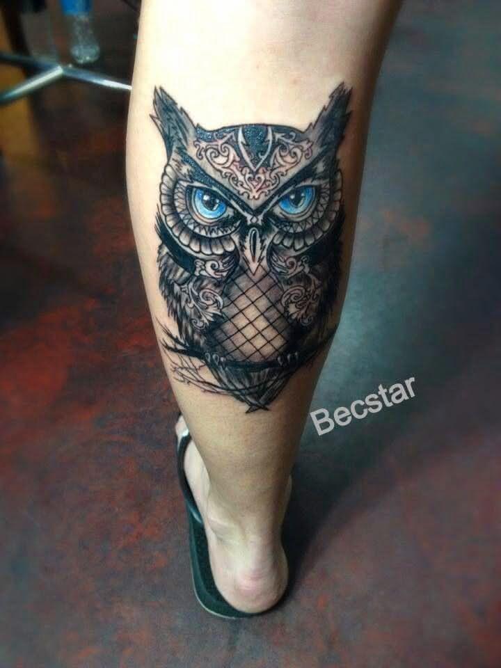 Tatuagem Panturrilha Masculina 2018 Incríveis Ideias Fotos