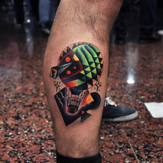 Tatuagem Panturrilha Masculina 2018