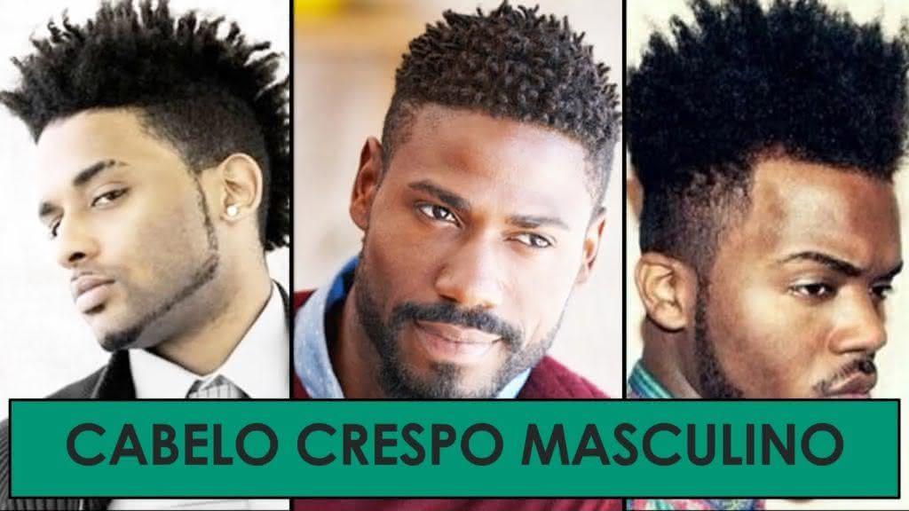 Cortes de Cabelo Masculino Crespo 2019