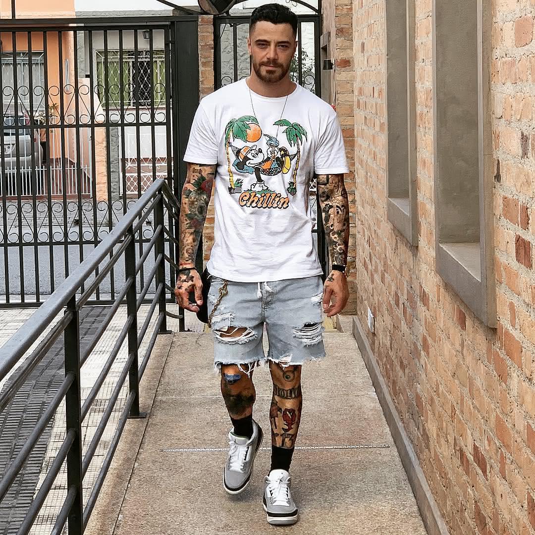 Como Escolher Tatuagem Homem tatuagens masculinas 2020 → 100 ideias de tatuagem, fotos