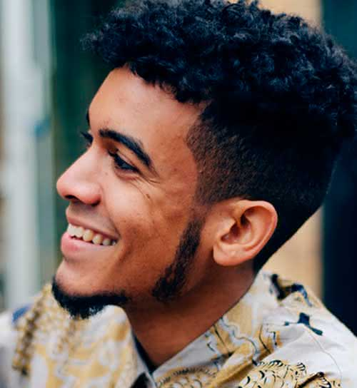 Fotos de cortes de cabelo masculino crespo 2020
