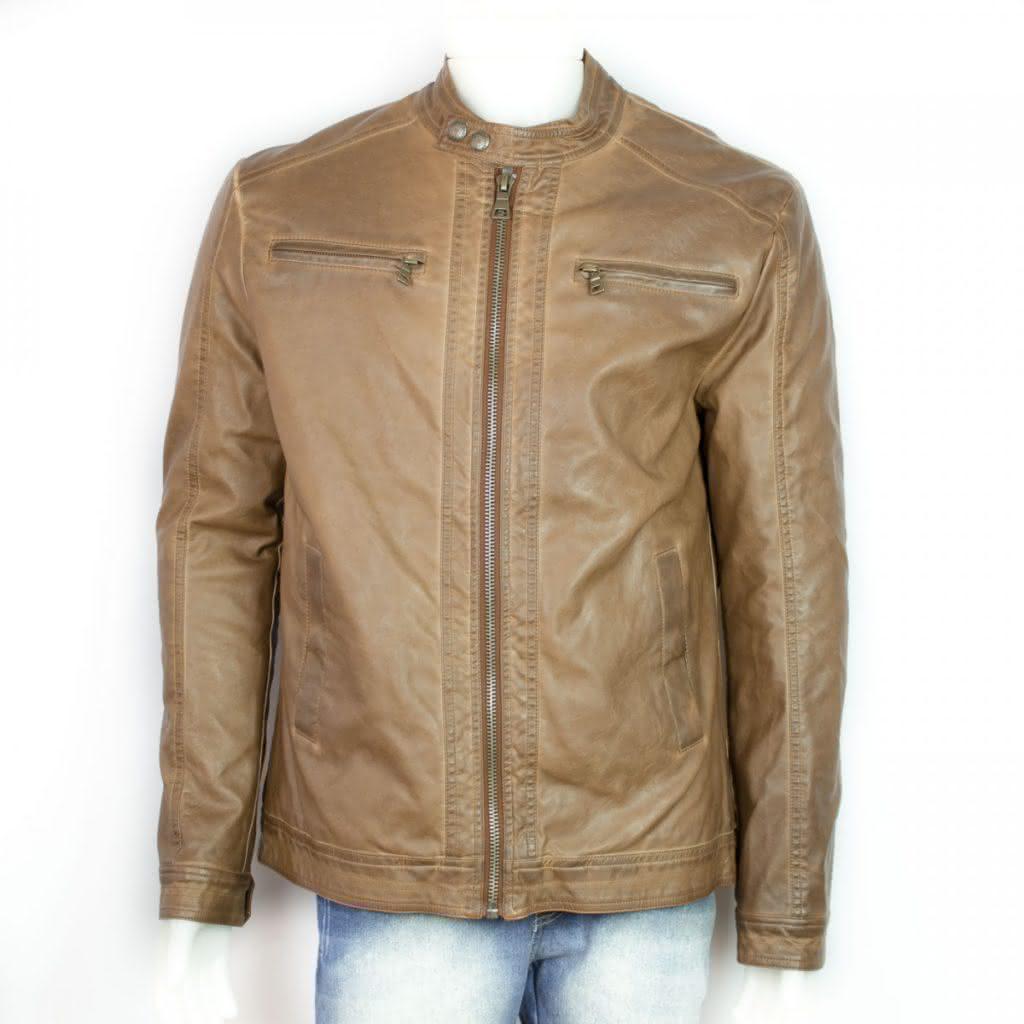 Jaquetas masculinas marrom